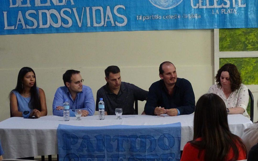 Se realizó el lanzamiento del partido celeste en La Plata