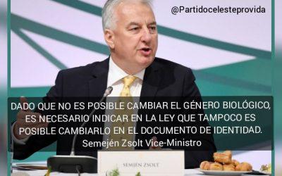HUNGRÍA PROHÍBE CAMBIAR IDENTIDAD DE GÉNERO DEL NACIMIENTO